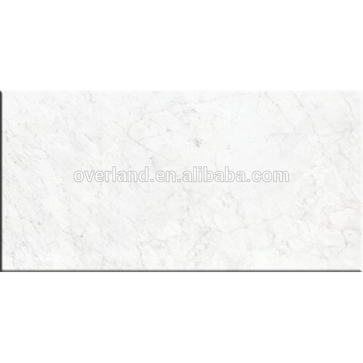 Carrara bianco white ceramic tiles