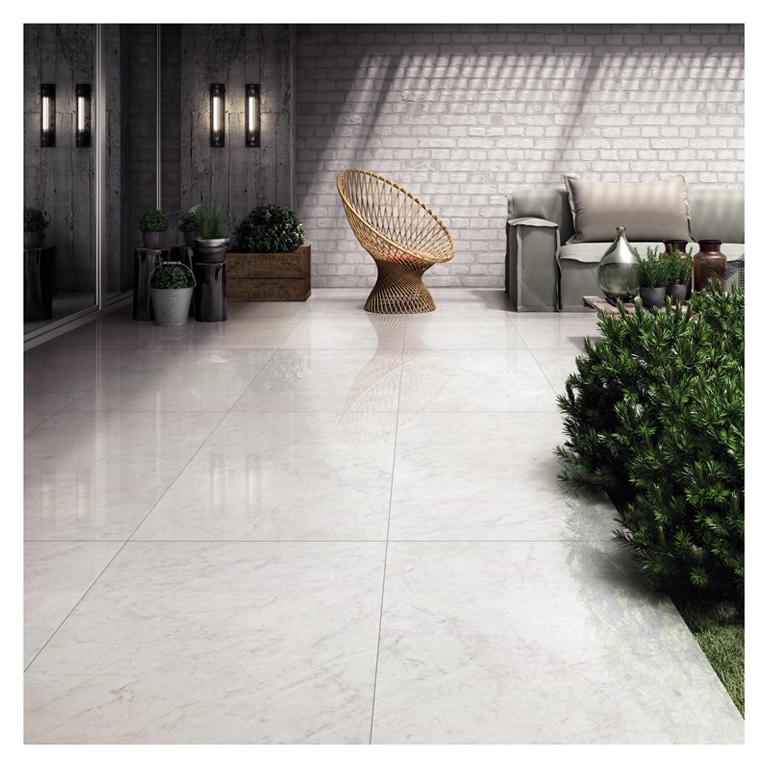 Passage design patchwork floor tile