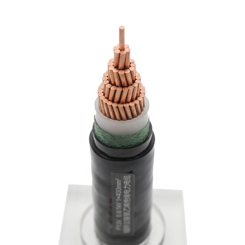 china factory 0.6/1kv cu/xlpe/pvc power cable YJV cable xlpe price 50mm2 power cable copper 400 sq mm power cables