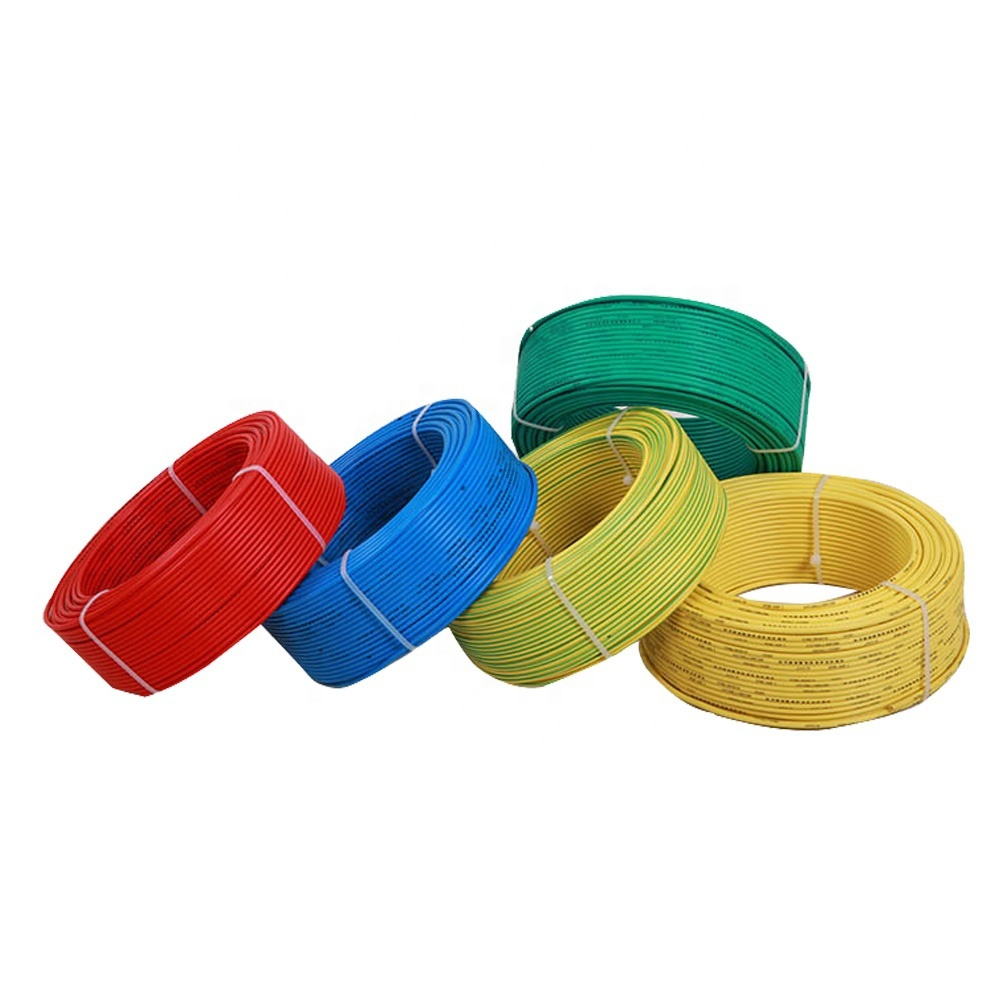 Guangdong Cable covering BVR 4 mm 6mm electric wire cable roll