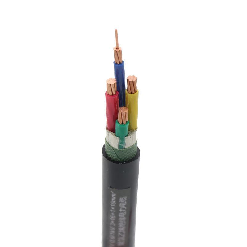 NHYJV 5X16 low voltage heating wire XLPE cable prices 0.6-11kv power cable manufacturers PE sheater