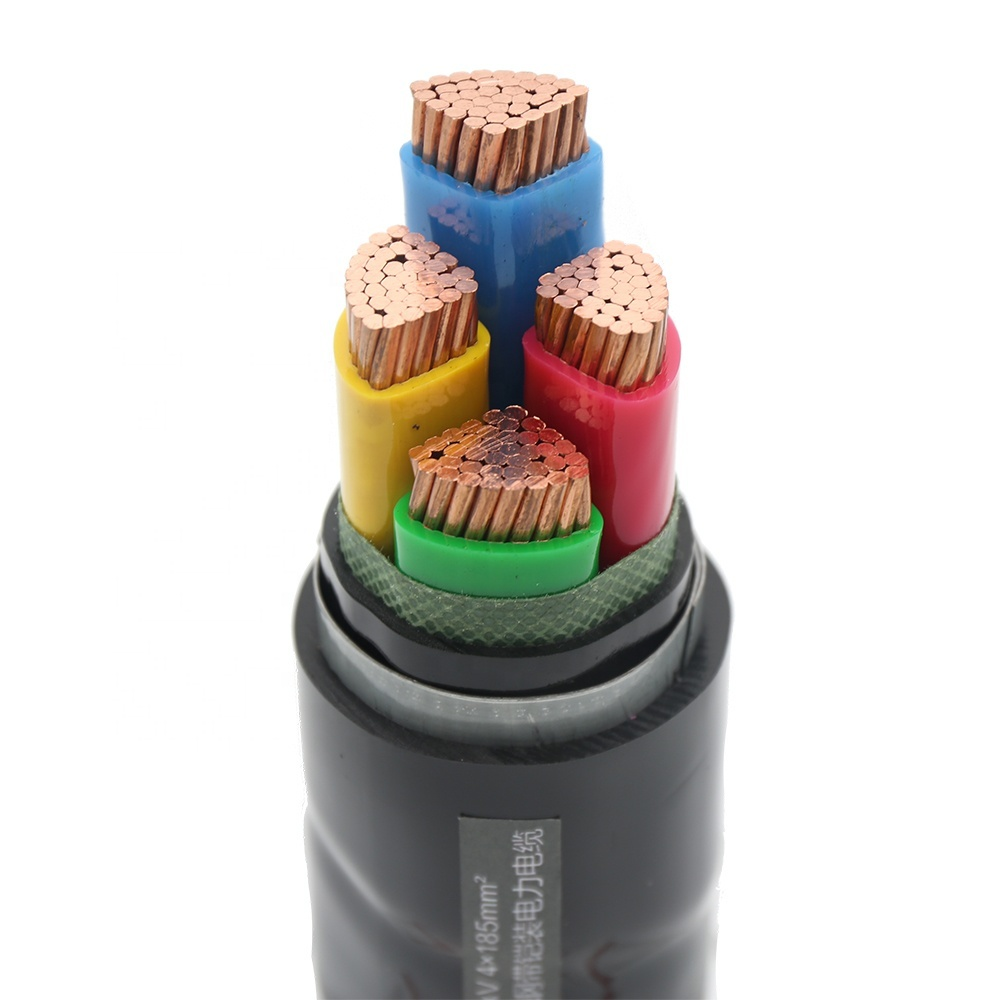 240mm XLPE 4 core armoured electric power cable