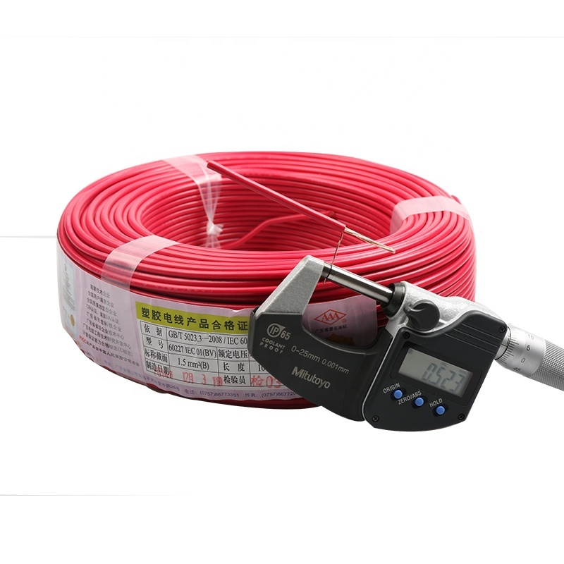 2020 BV 25mm power cable pvc cables and wire electric wire guangzhou