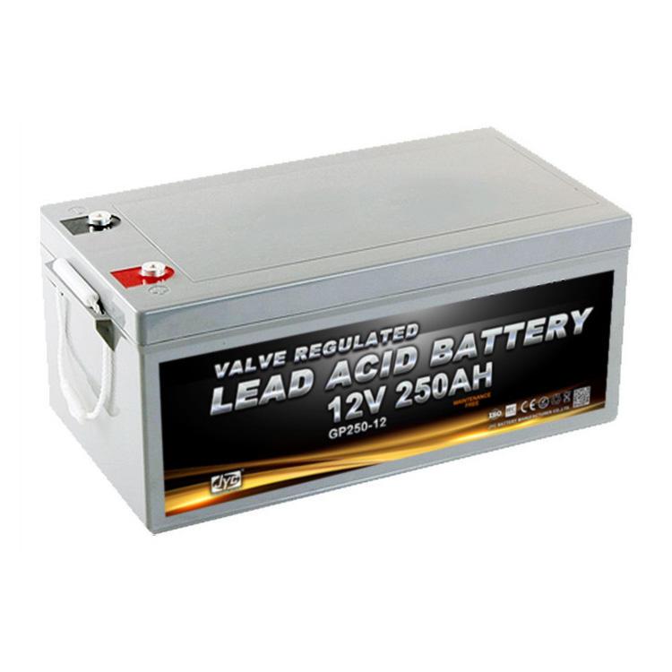 JYC Good Quality 12V 250Ah Power Plus Agm Lead Acid Battery With Hot Sale