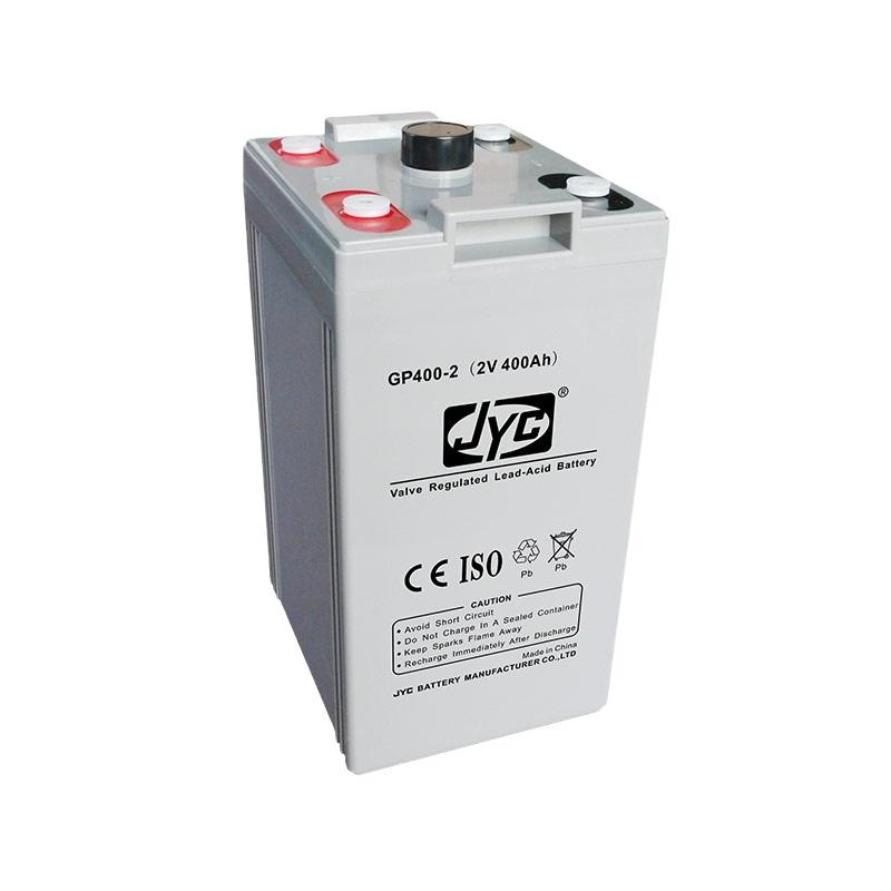High Quality AGM Acid Lead 2V 400AH used Deep Cycle Telecom and Solar Battery Australia for Sale
