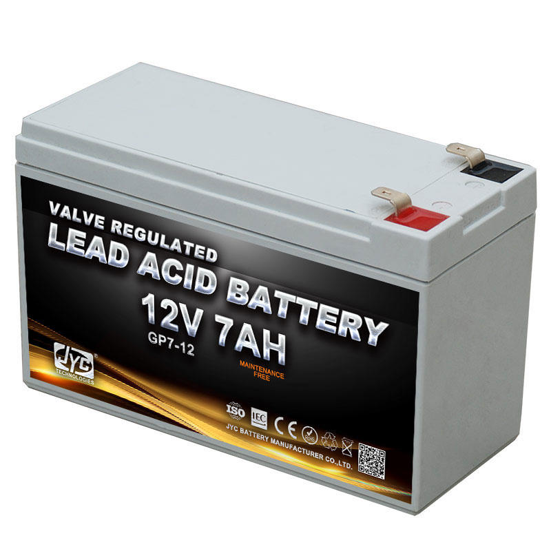 JYC Battery Manufacturers 12V7AH SFM AGM Rechargeable Battery GP-1270 for EPS and UPS