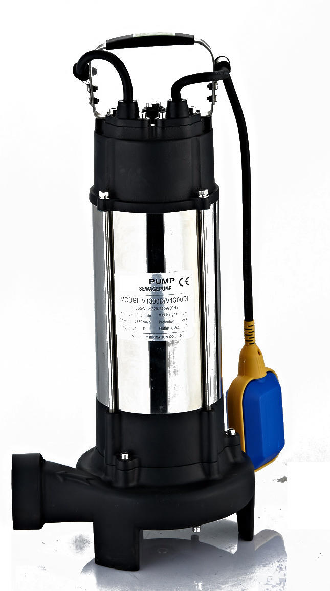 Submersible Pump (V1100DF) with Ce Approved