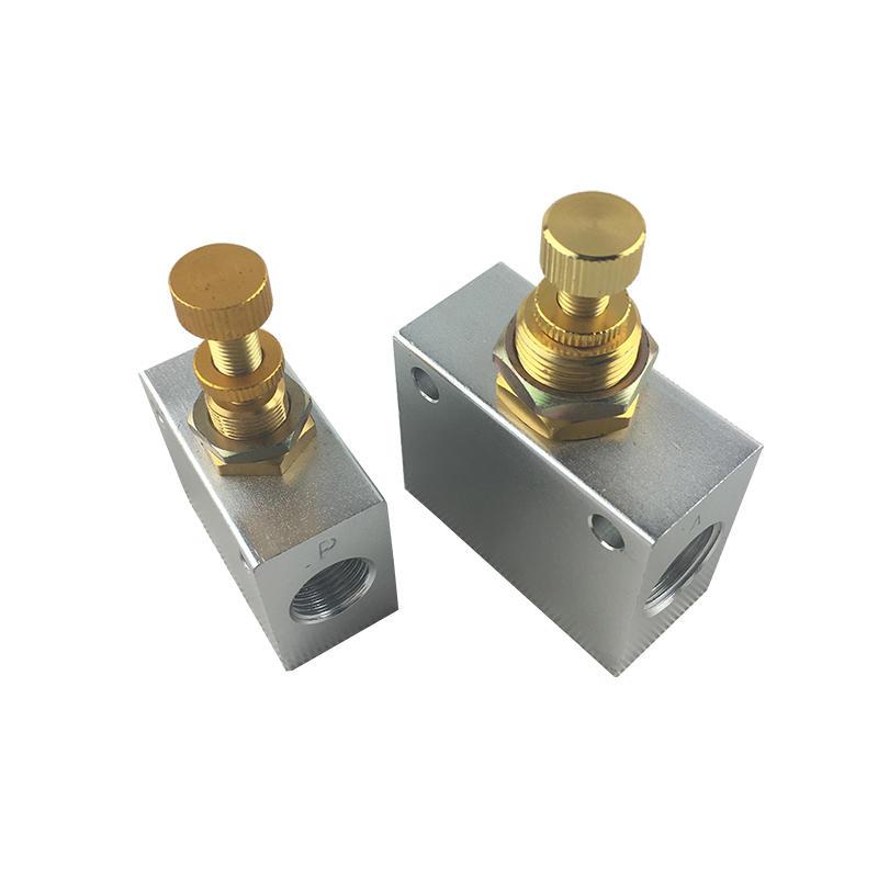 Slivery KLA Series Aluminum Alloy Distinctive Rate KLA-6 KLA-10 KLA-50 Flow Control Valve