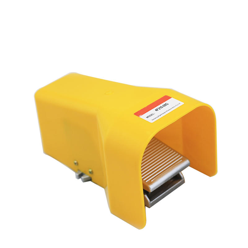 5/2 Way 4F Series With Lock Pneumatic Valve Foot Pedal 4F210-08L 4F210-08 Air Release Valve
