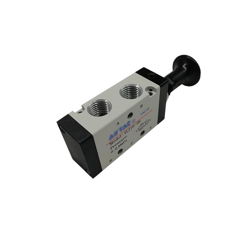 Pneumatic valve4L210-08 Hand control valve5/2way0-0.8MpaManual valve