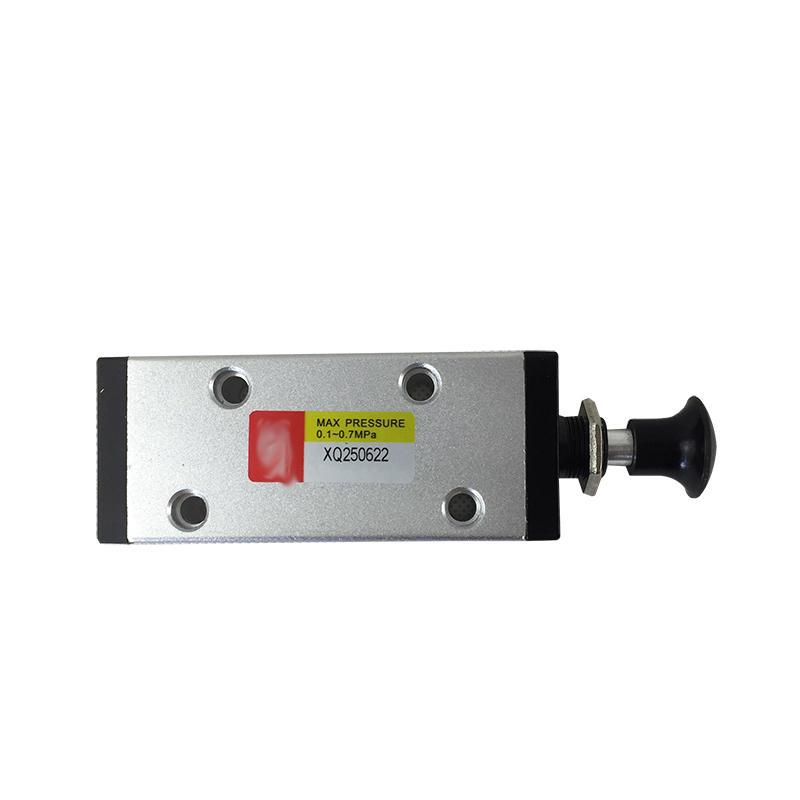 Aluminum Alloy 1/8 1/4 Inch Pneumatic Valve Manufacturing Industry XQ250422 XQ230622 Hand Push Pull Valve