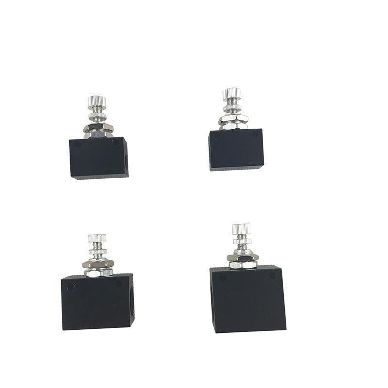 ASC Series Aluminum Alloy Serviceable Pneumatic Switch ASC-06 ASC-10 Flow Control Valve