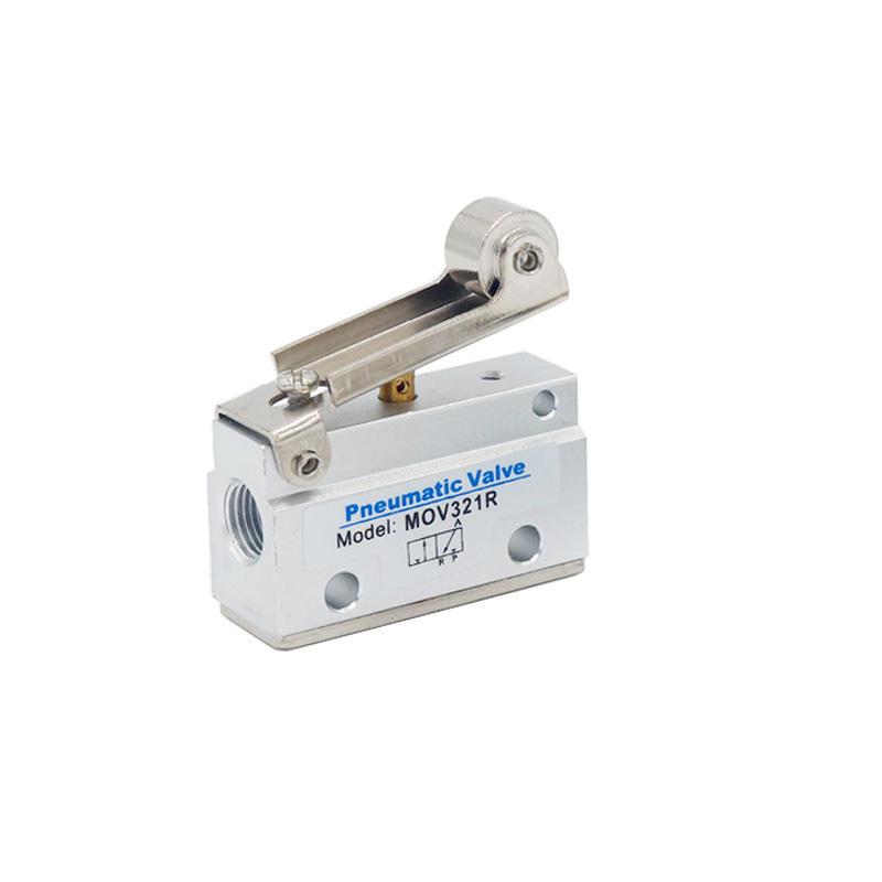 MOV Series 3/2 Way Aluminum Alloy Distinctive Pneumatic Parts MOV321R MOV321EB Mechanical Valve