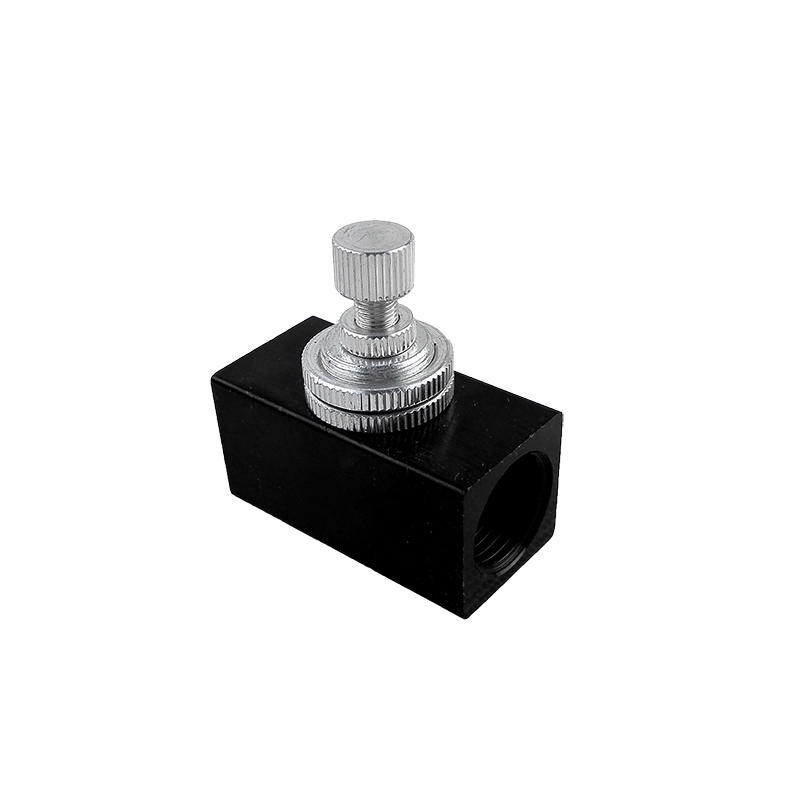 Aluminum Alloy RE Series Black Ordinary Simple Operation RE-01RE-02 RE-03 RE-04 Flow Control Valve