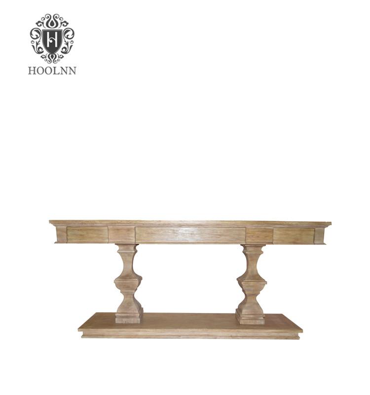 Oak Console Table HL366
