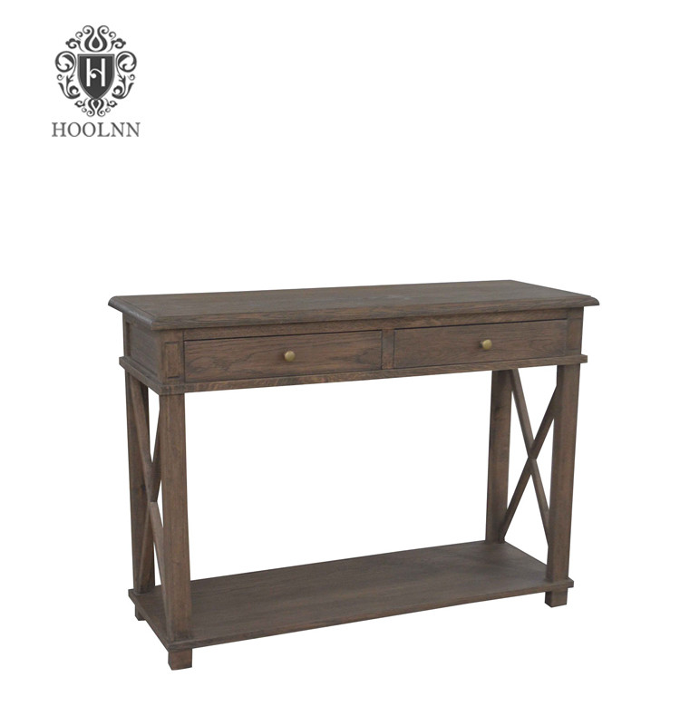 French Style Oak Console HL541