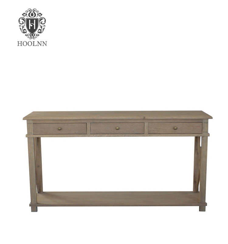 Oak Console table HL541-104