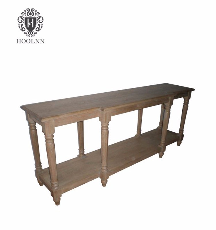 French stylecountry reproduction furniture Timber Country Console W5830