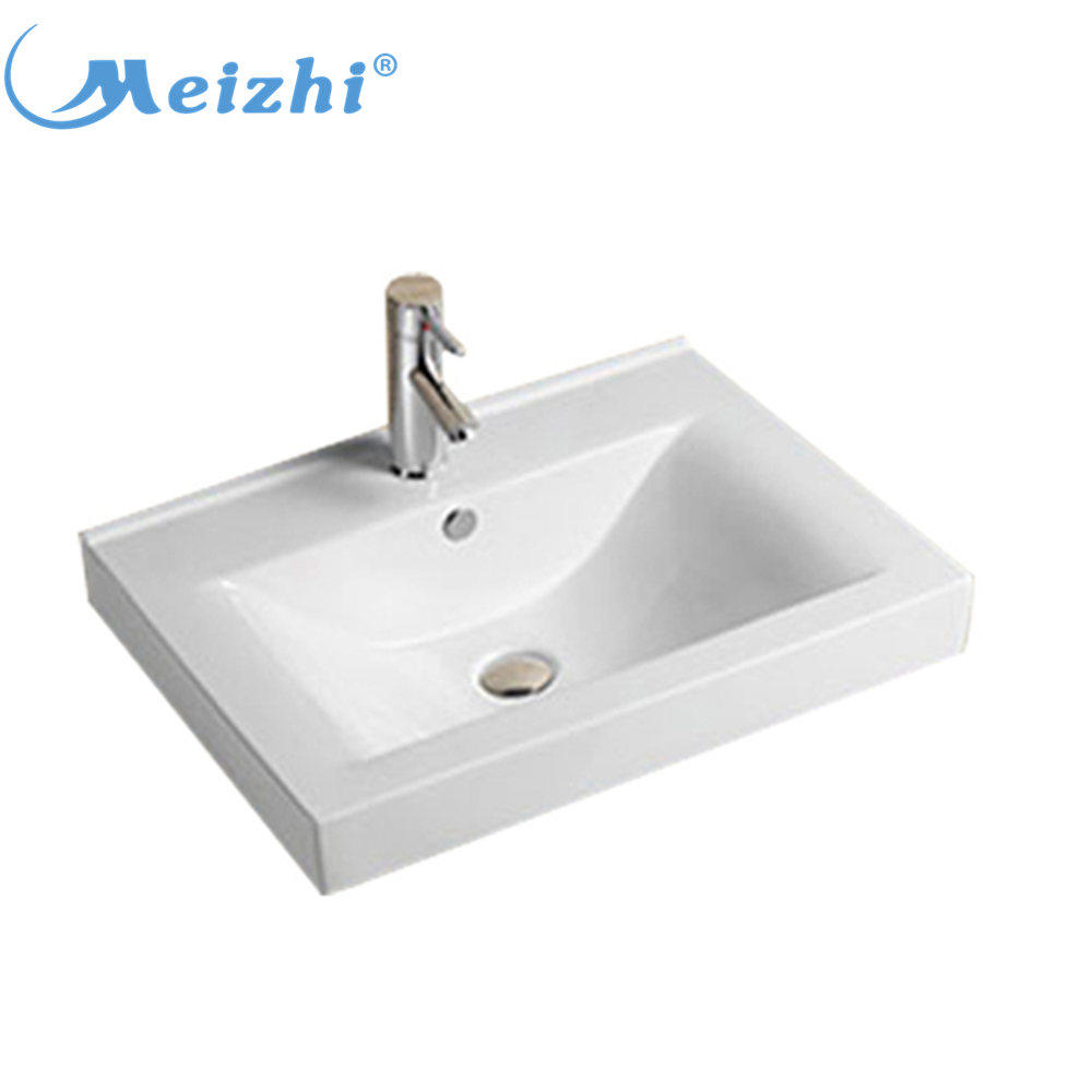 Ceramic bathroom vanity wash basin