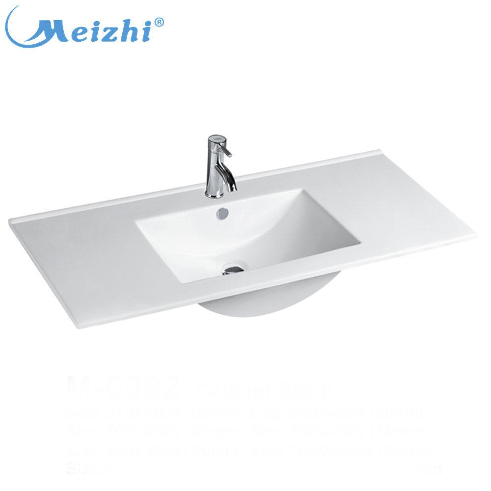 Sanitary ware bathroom cabinet acrylic vanity basin