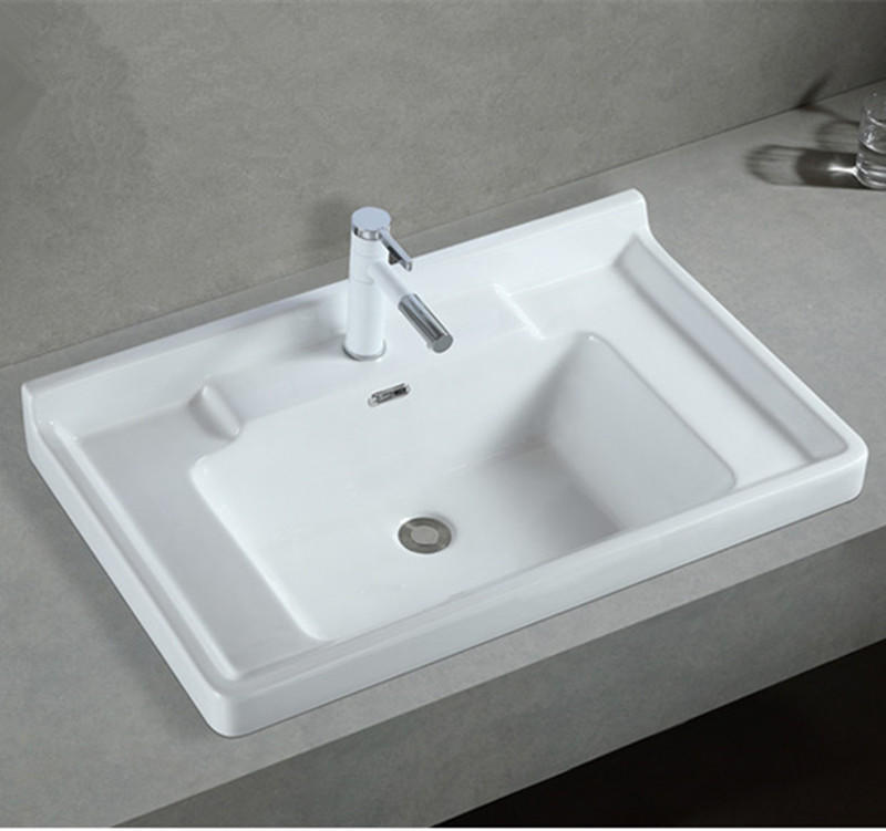 Ceramic sanitary ware high quality new model unique bathroom sinks