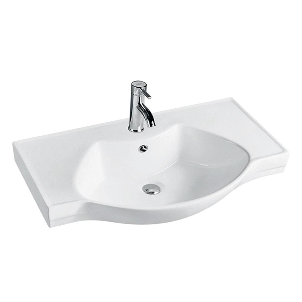 Bathroom ceramic antique wash basin sink parts
