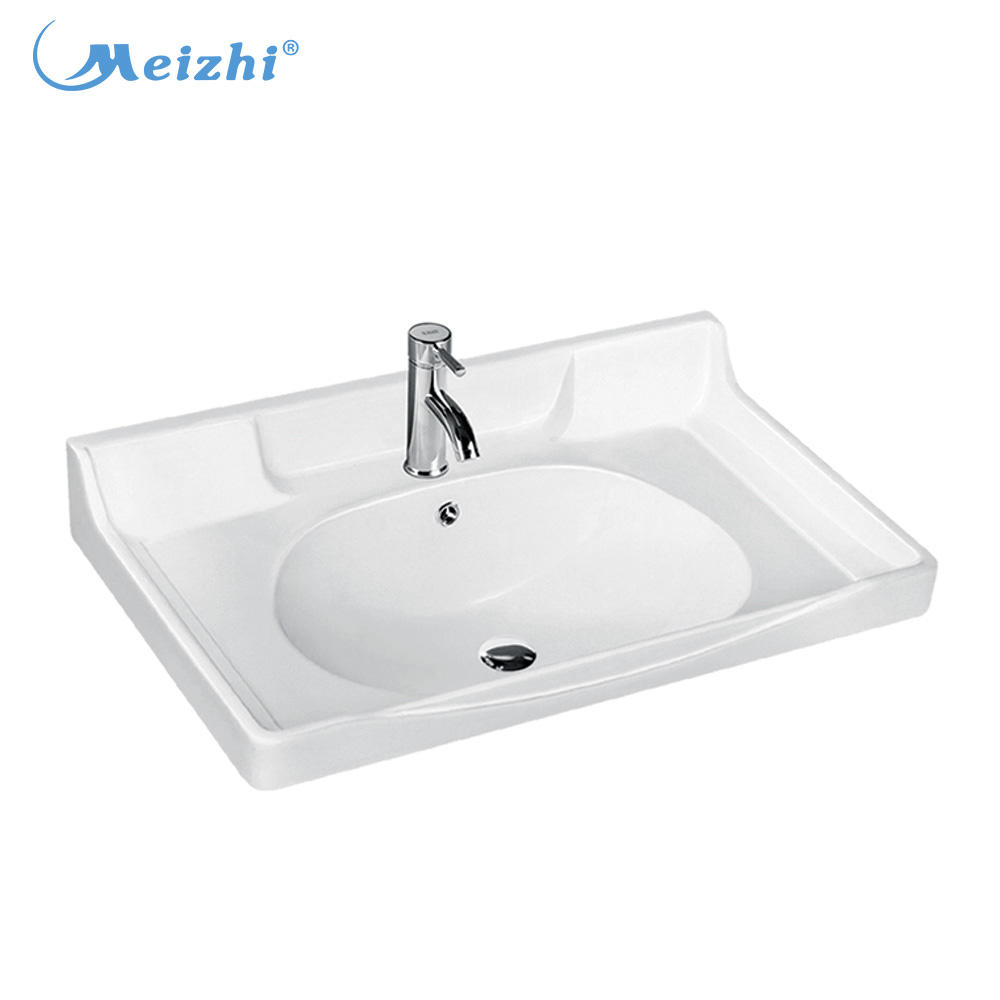 Ceramic bathroom vanities barber basins