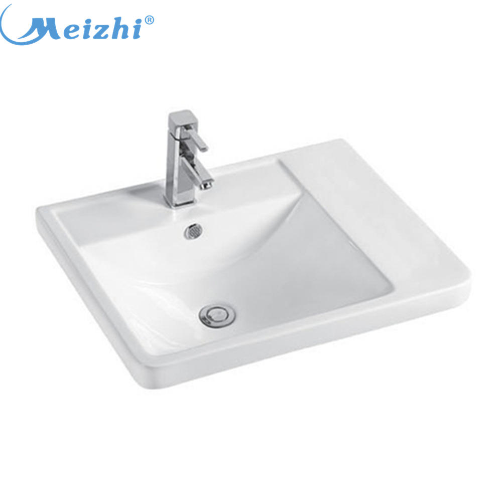 Chinese ceramic antique wash basin for bathroom cabinet