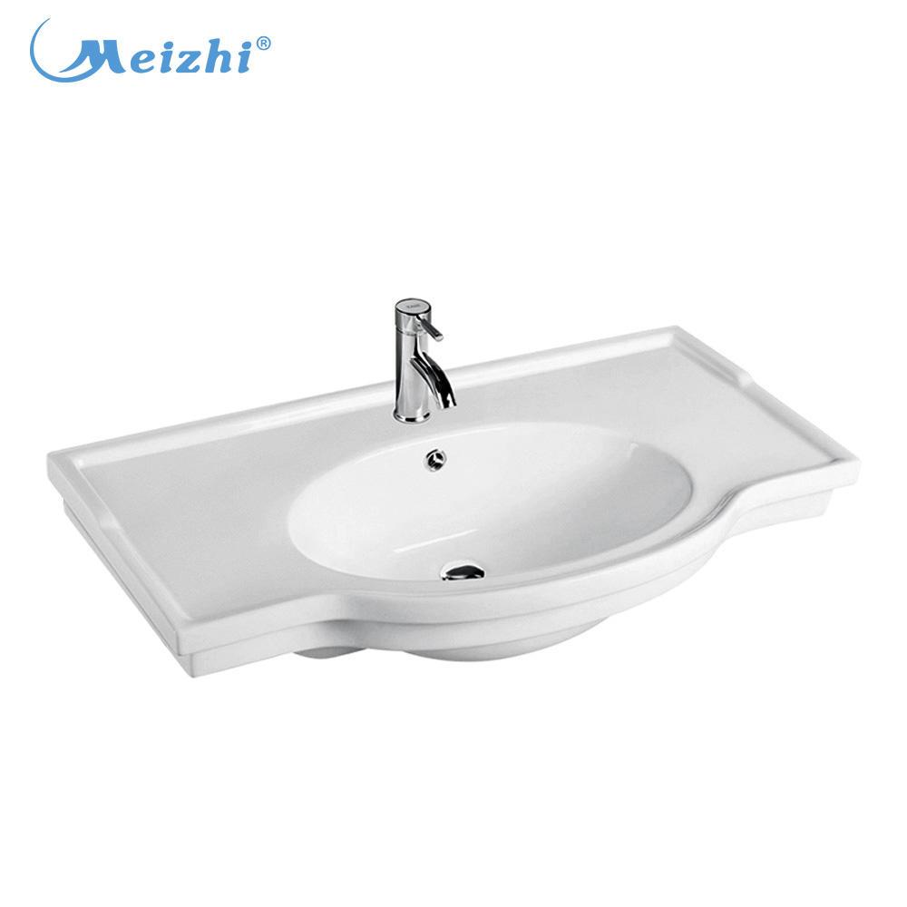 Irregular shape sinks wash basin with stand