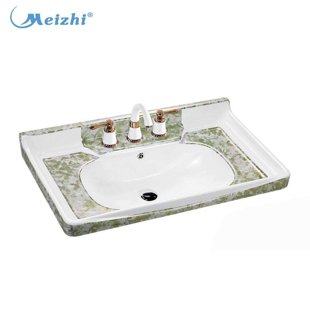 Cabinet ceramic onyx marble wash basin