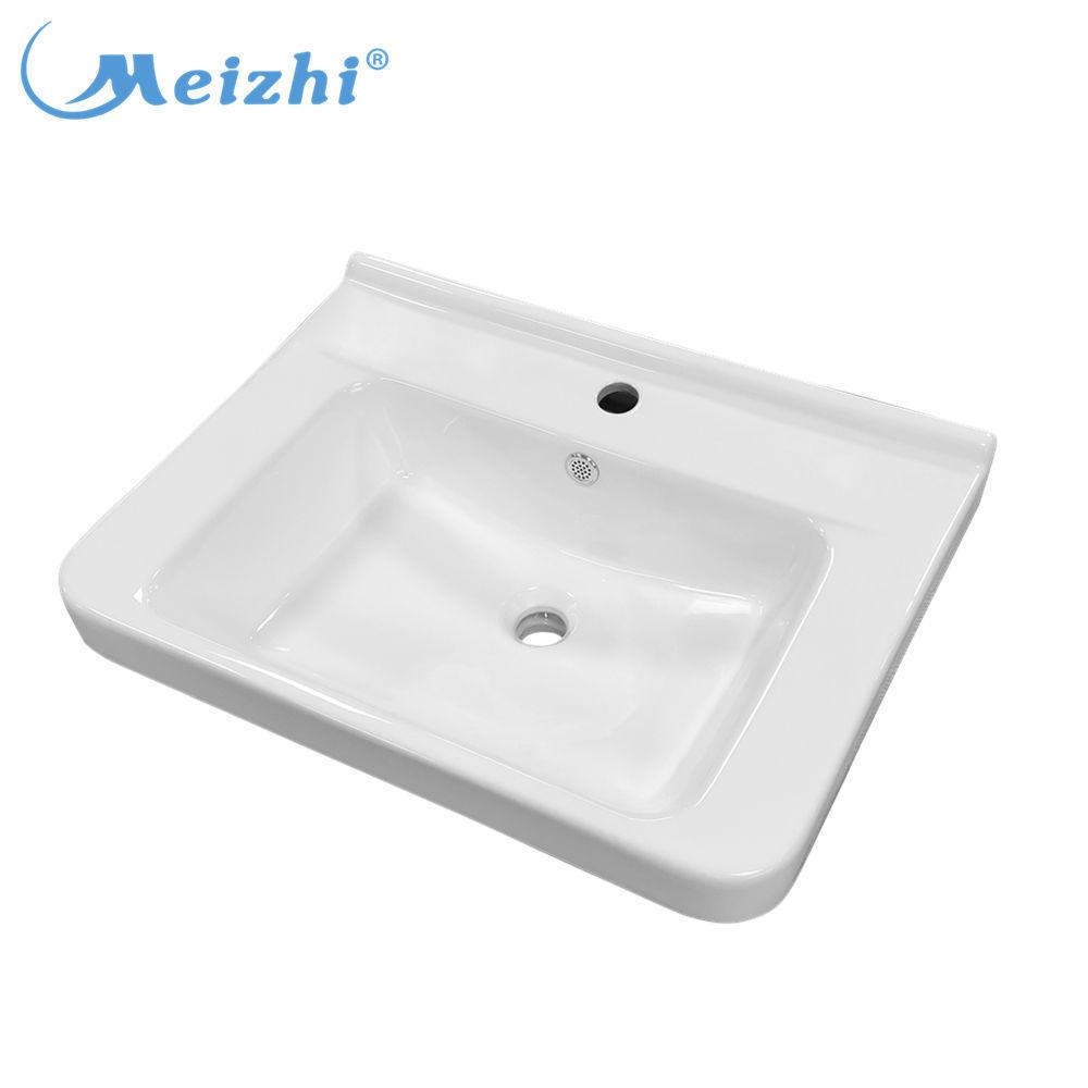 Ceramic vessel sink italian design bathroom vanity basin