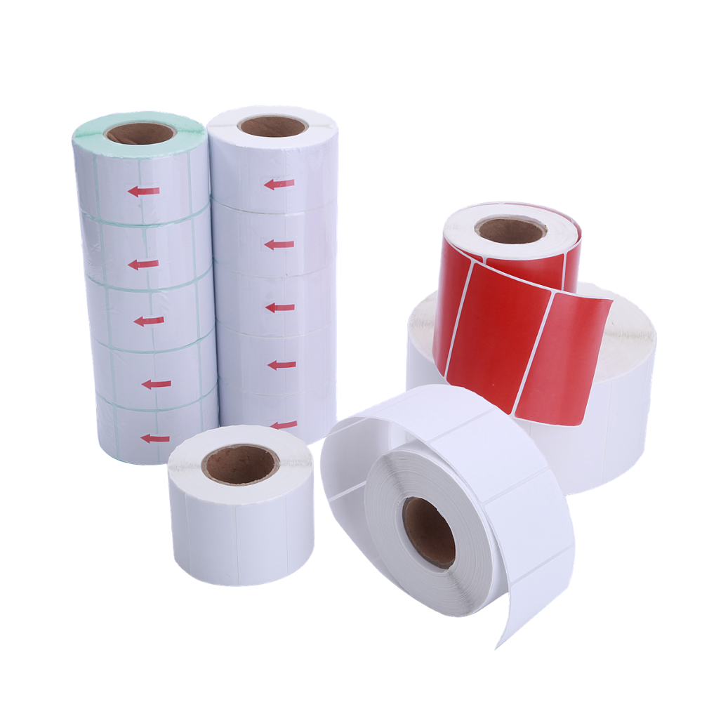 Removal Waterproof Sticky Labels for Printing Strong Adhesive Thermal Stickers Factory Direct
