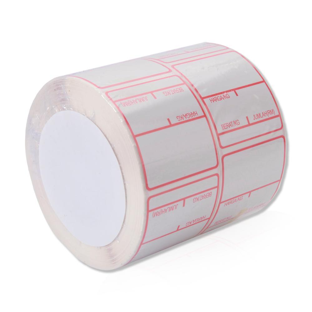 Special Facial Self Adhesive Labels Water Proof Thermal Paper for Barcode