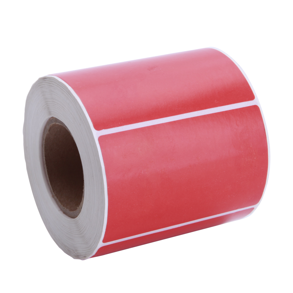 Self Adhesive Label Semi Gloss Labels for Barcode Manufacturer