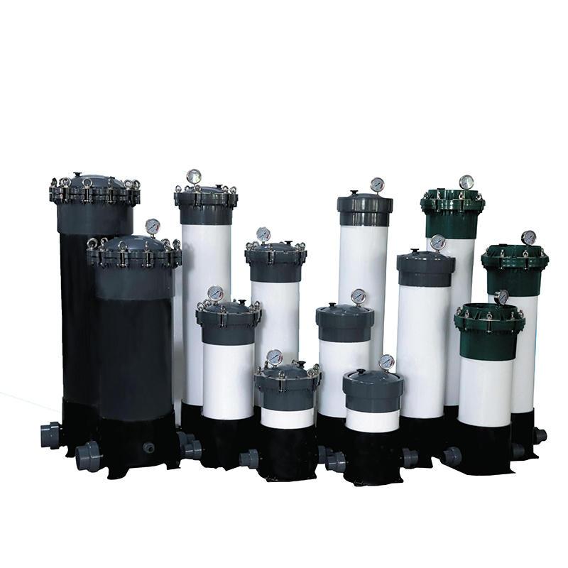 3-9 nos UPVC High Precision Cartridge Filter Housings