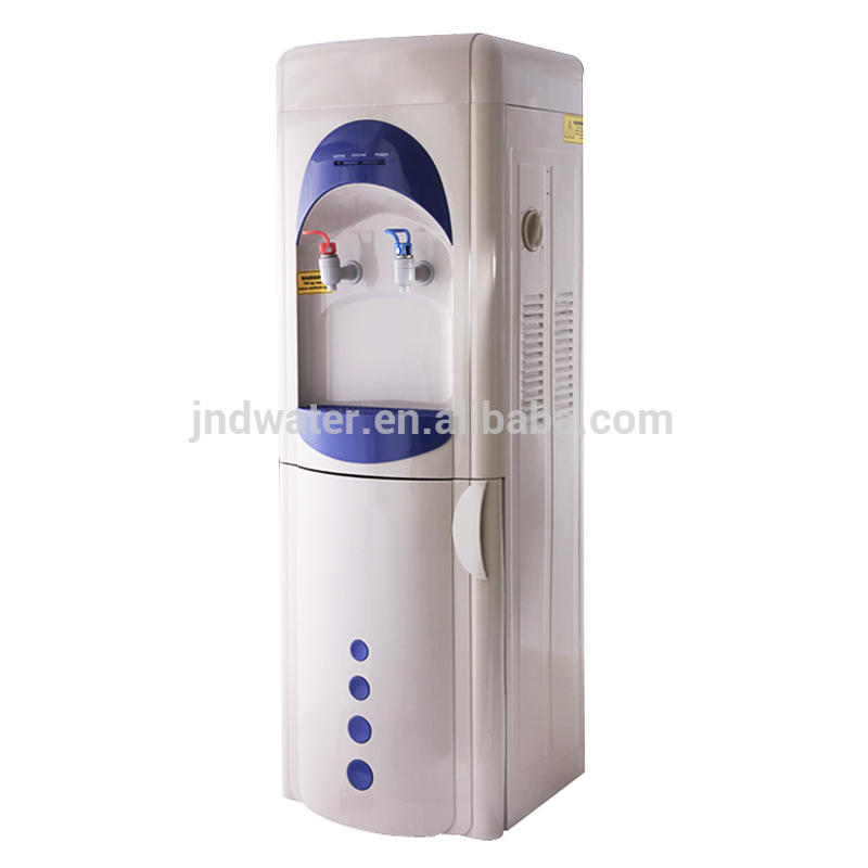 POU Hot Cold Water Dispenser with Mini Fridge