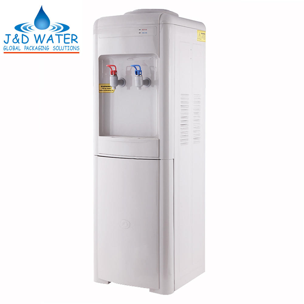 Best Home 5 Gallon Hot Cold Water Dispenser Cooler with Fridge