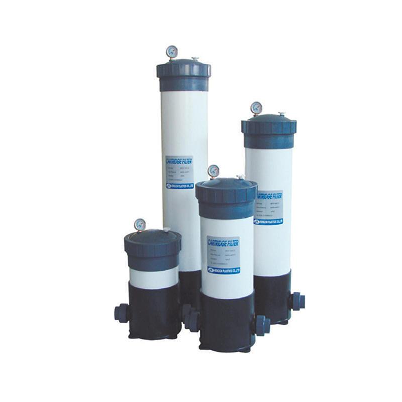 3-9 nos Reverse osmosis water treatment UPVC Precision Cartridge Filter Housings
