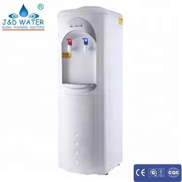 Floor standing easy clean hygienic water cooler dispenser