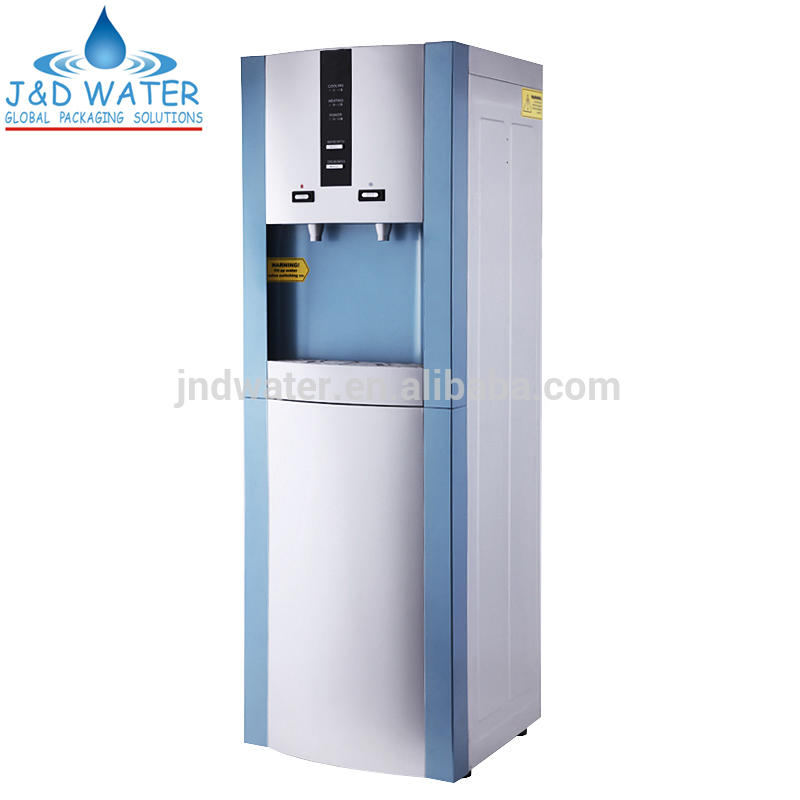 Compressor plastic hot and cold water dispenser machine with CE mark