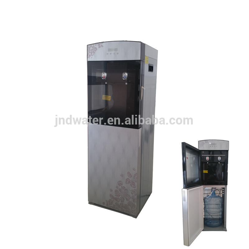 Hot and Cold Bottle Bottom Water Dispenser with Compressor Cooling