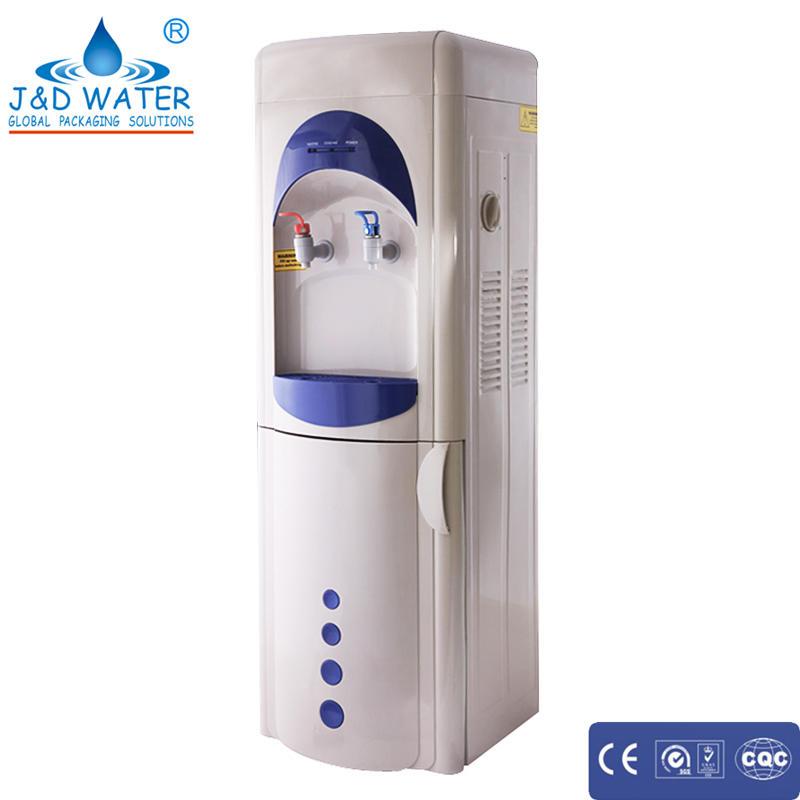 Household floor standing hot cold drinking water dispenser
