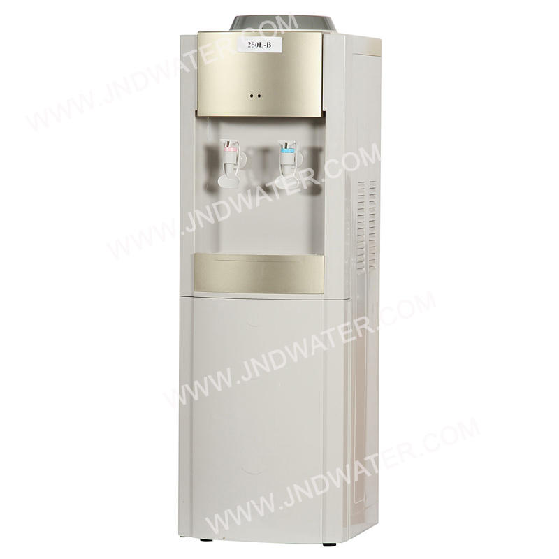 Hot and Cold Water Dispenser with Mini Fridge