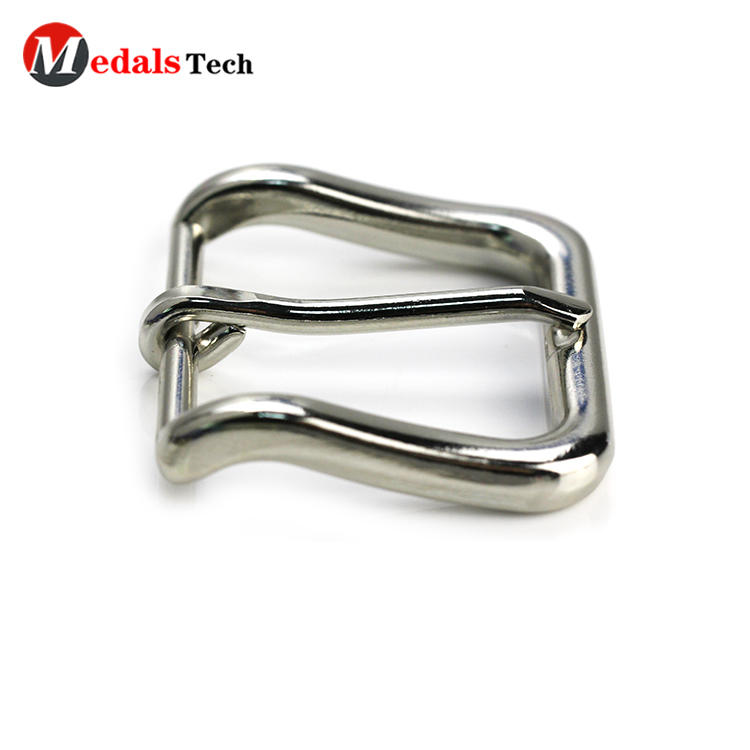 High quality make metal simplelogo belt buckle for man