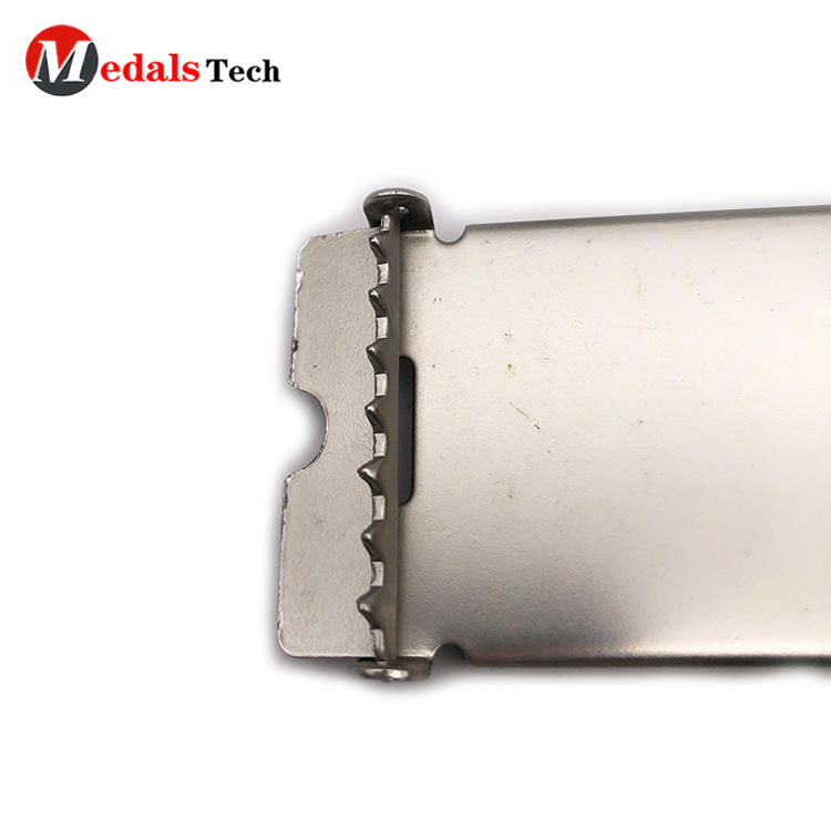 Chinese factory adjustable business automation aluminum belt buckles