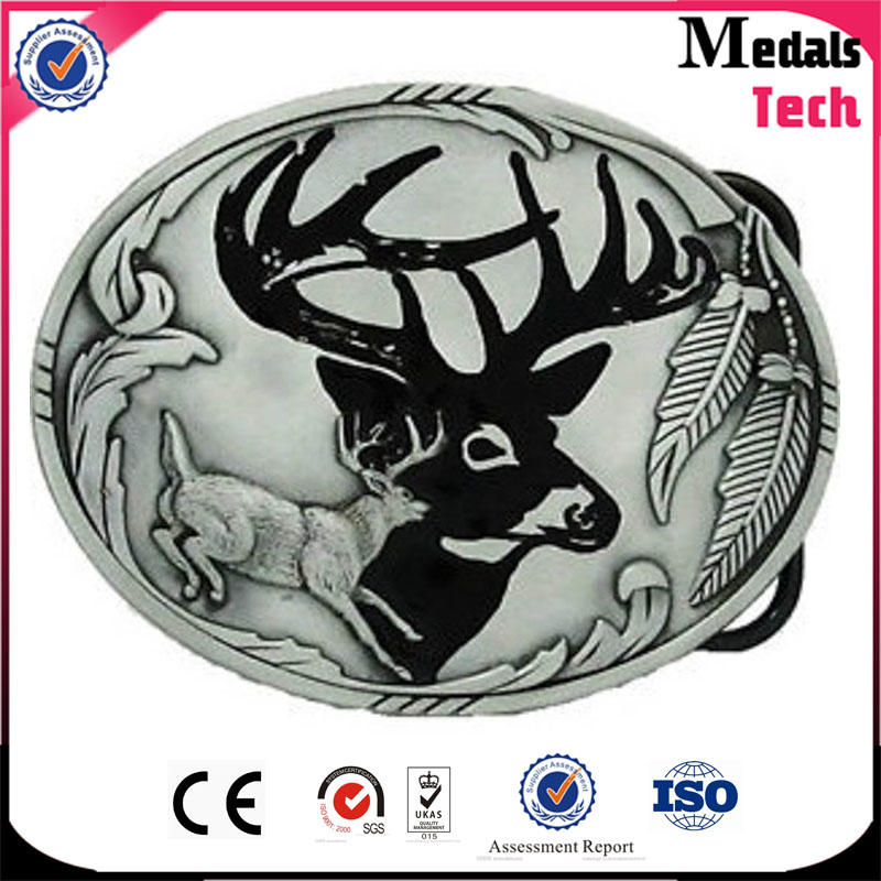 Latest special design selling antique bronze 3d eagle belt buckle wholesale
