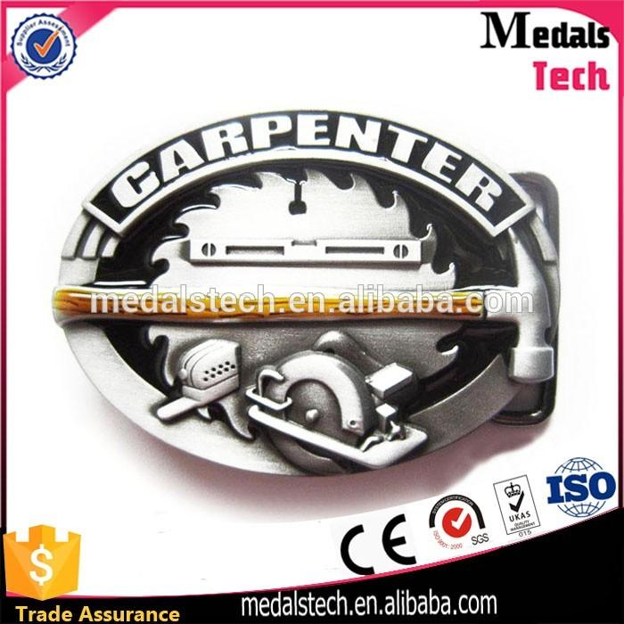 China manufacture metal side release buckle popular cowboy buckle belt