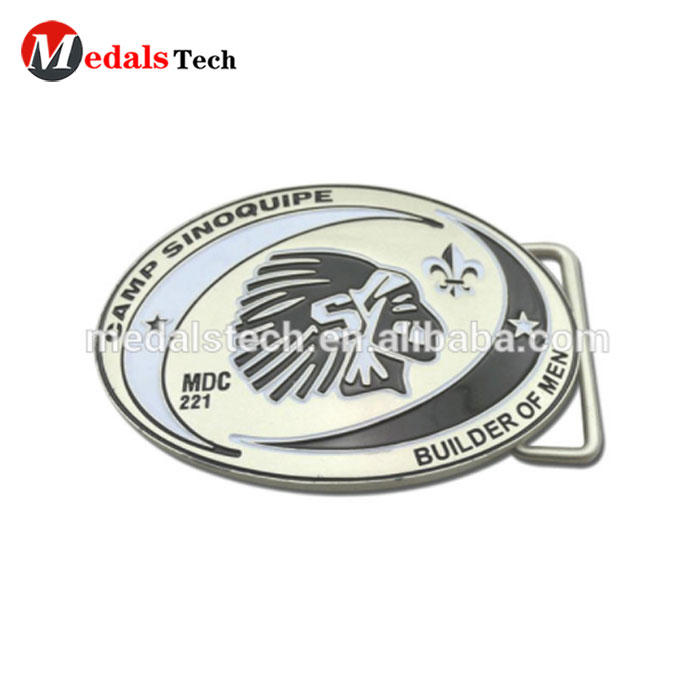 Factory direct sale production cheap quality metal belt buckle for promotion