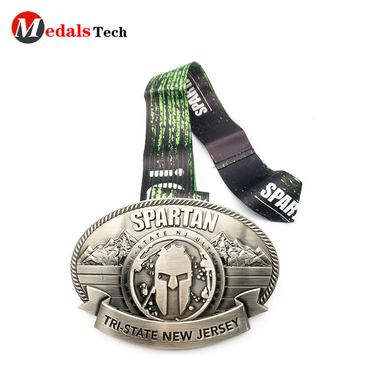 Cheap custom creative 3d logo souvenir medal belt buckles