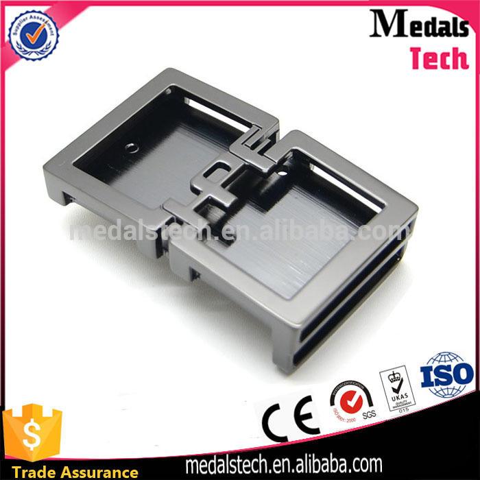 Lower price die casting custom 3D engrave sterling silver belt buckle
